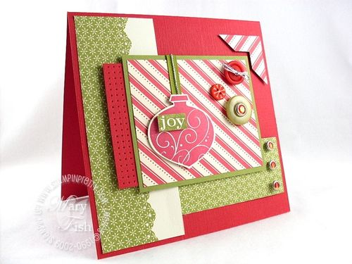 Stampin up mojo monday delightful decorations