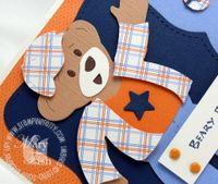 Stampin up build a bear beary essentials