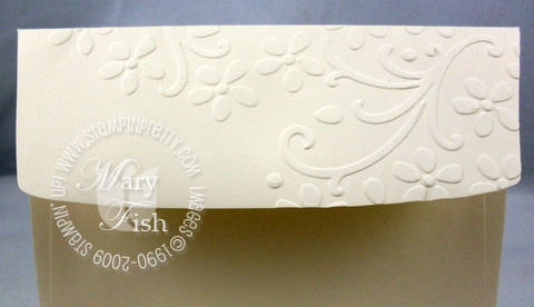 Stampin up elegant bouquet envelope