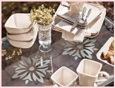 Decor elements table