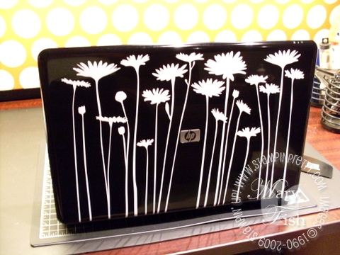Stampin up decor elements laptop