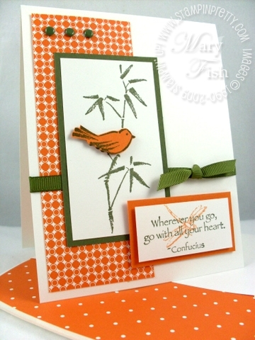 Stampin up pals paper arts asian artistry
