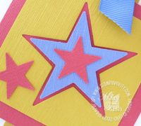 Stampin up star punch
