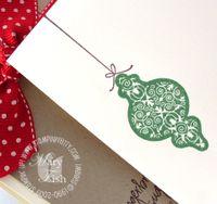 Stampin up christmas greetings envelope