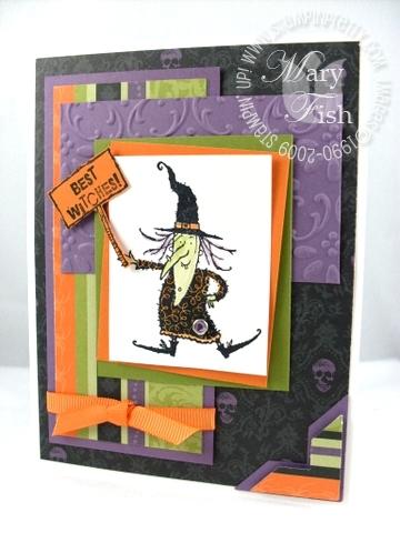 Stampin up halloween hoot