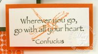 Stampin up asian artistry confucius