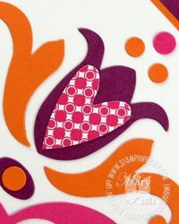 Stampin up tulipe bigz die heart