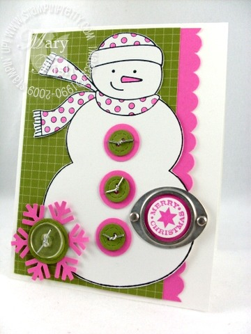 Stampin up holiday mini simple seasonal thanks