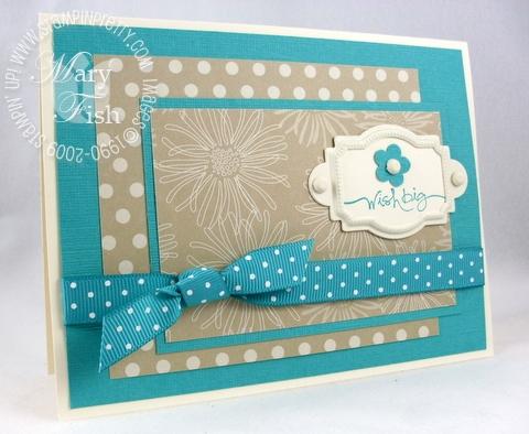 Stampin up mojo monday thoroughly modern birthday card