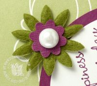 Stampin up flower fusion