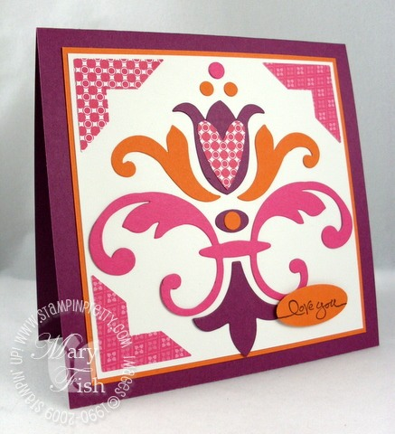 Stampin up tulipe bigz die love