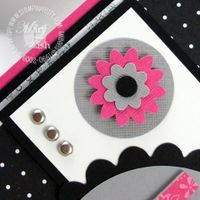 Stampin up boho blossoms punch