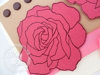 Stampin up fifth avenue floral rose