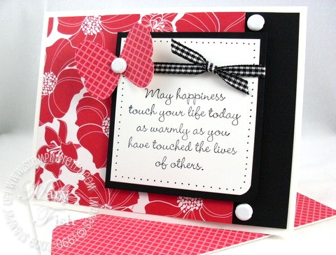 Stampin up herb expressions
