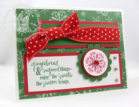 Stampin up mojo monday sweet season
