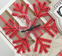 Stampin up simple snowflake punch
