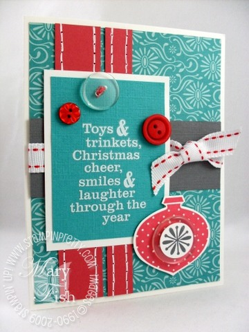Stampin up delightful decorations PPA15