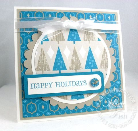 Stampin up mojo monday holiday lounge