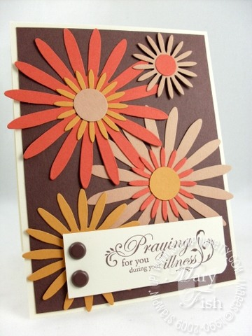 Stampin up daisies well wishes