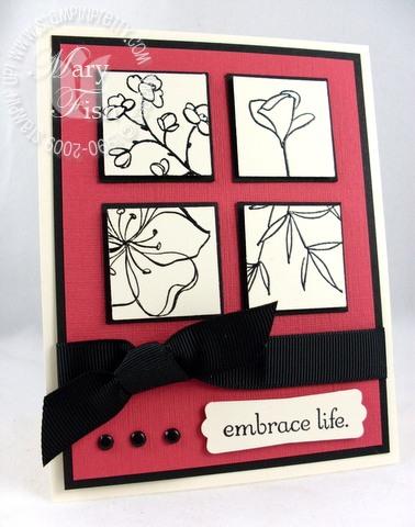 Stampin up embrace life pals paper arts