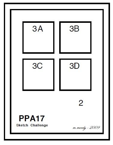 Stampin up pals paper arts ppa17