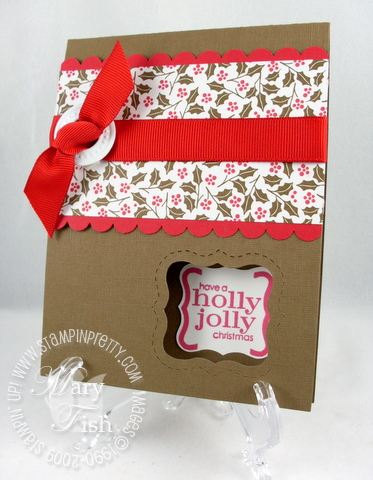 Stampin up movers and shapers curly label