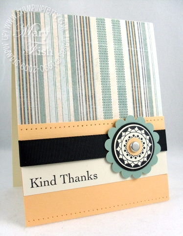 Stampin up circle circus masculine card