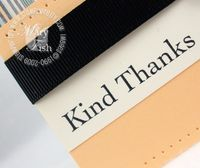 Stampin up thank you kindly