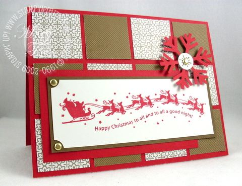 Stampin up wandering words ppa19
