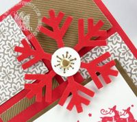 Stampin up christmas snowflake punch