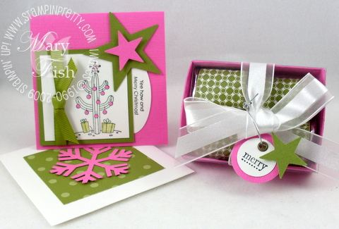 Stampin up yippee kiyay holiday