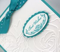 Stampin up birthday card oval all
