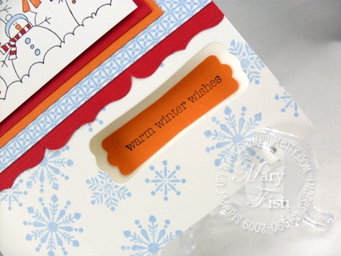 Stampin up more the merrier modern label punch