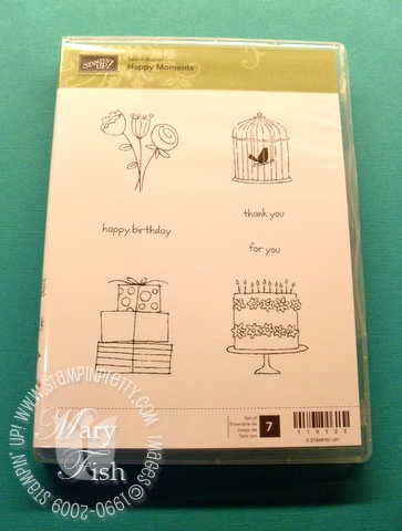 Stampin up happy moments images
