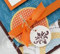 Stampin up tiny tags brocade