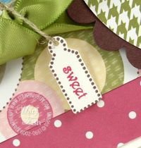 Stampin up tiny tags punch