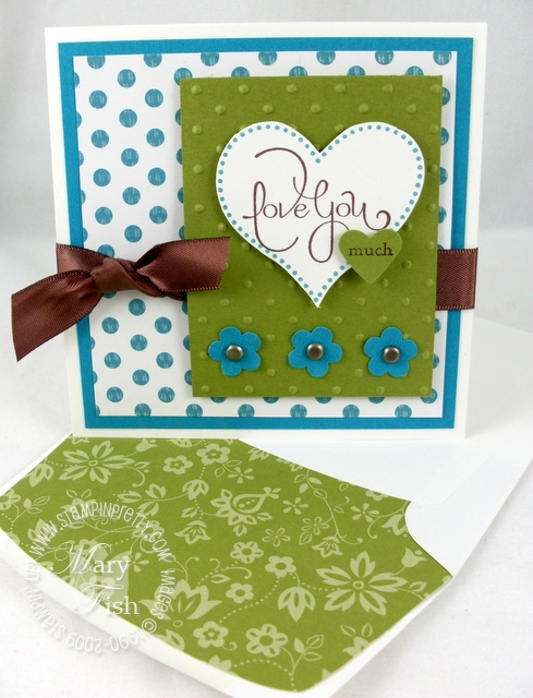 Stampin up stampin pretty i heart hearts