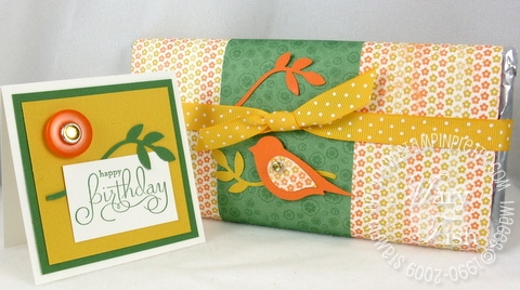 Stampin up extra large two step bird punch