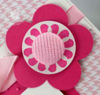 Stampin up extra large fancy flower punch