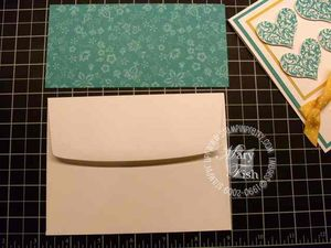 Stampin up bermuda bay envelope