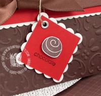 Stampin up things i love chocolate bon bon card