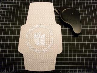Stampin up chocolate chip designer series envelope template