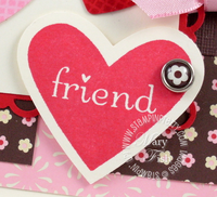 Stampin up i heart hearts full heart punch