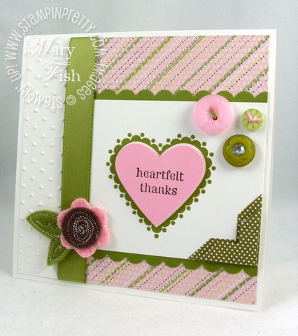 Stampin up mojo monday sweetheart