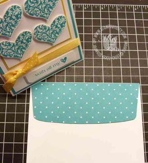 Stampin up bermuda bay envelope 3