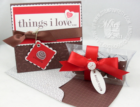 Stampin up things i love duo
