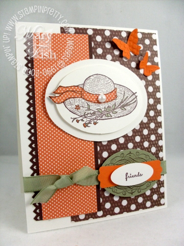 Stampin up garden from the heart mojo monday
