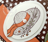 Stampin up garden from the heart hat mojo monday