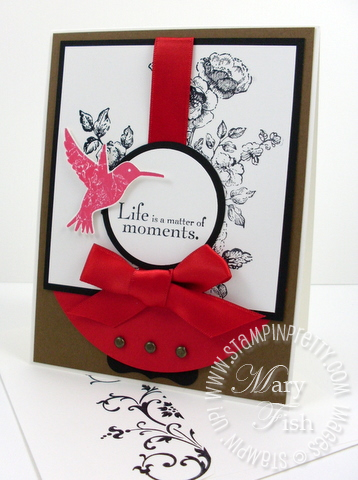 Stampin up elements of style mojo monday
