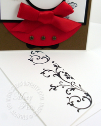 Stampin up elements of style mojo monday envelope
